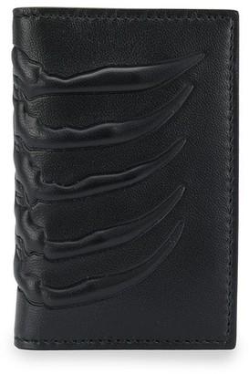 Alexander McQueen Embossed Pocket Organiser