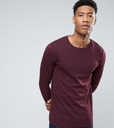 Asos TALL Long Sleeve T-Shirt With Crew Neck