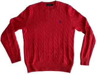 Polo Ralph Lauren Red Cotton Knitwear & Sweatshirts