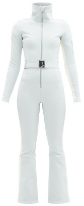 Cordova Belted Technical-twill Ski Suit - Light Blue