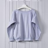 Chalk Uk Chalk UK - Holly Sweat Top Grey Marl - ONESIZE | cotton | light grey - Light grey