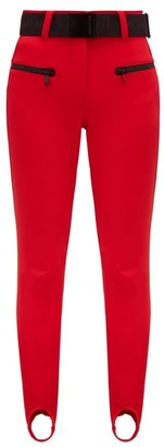 Goldbergh Paris Stirrup-cuff Ski Trousers - Red