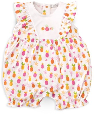 Kissy Kissy Baby Girl's Pineapple-Print Romper