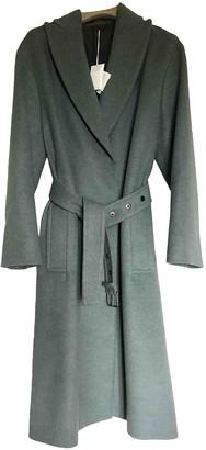 Brunello Cucinelli Green Wool Coat for Women