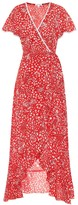 Poupette St Barth Exclusive to Mytheresa Joe floral crepe de chine dress