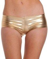 Sex Flirt, FTXJ Women Steel Tube Dance Sexy Hot Metallic Faux Leather Booty Mini Short Pants
