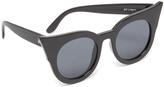 Le Specs Flashy Flat Lense Sunglasses