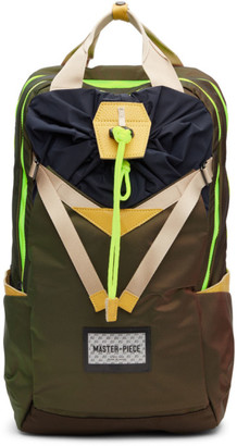Master-piece Co Khaki Prism L Backpack