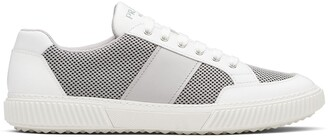 Prada mesh panel low-top Derby sneakers