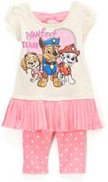 Children's Apparel Network PAW Patrol Beige Nick Top & Pink Pants - Toddler