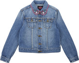 Juicy Couture Wild Hearts cotton denim jacket 4-14 years