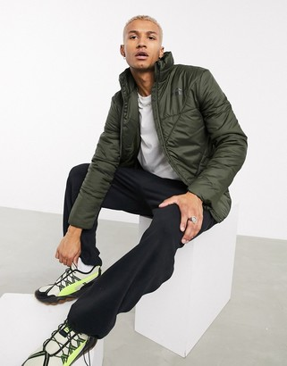 Puma ESS padded jacket in green
