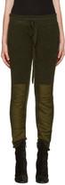 Haider Ackermann Green Mohair Lounge Pants