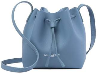 Lancaster Paris Pur Saffiano Leather Mini Bucket Bag