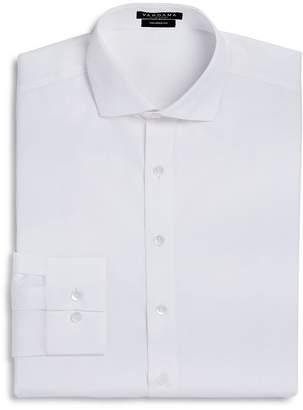 Vardama Park Avenue Solid Stain Resistant Dress Shirt - Regular Fit