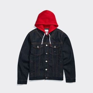 Tommy Hilfiger Hooded Denim Jacket