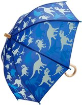 Hatley Silhouette Dinos Umbrella (Tod/Kid) - Blue - One Size