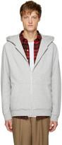 Alexander Wang Grey Vintage Fleece Hoodie