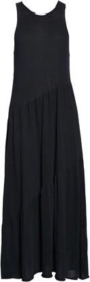 Vince Tiered Tank Midi Sweater Dress