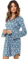 O'Neill Junior's Beverly Long Sleeve Knit Dress