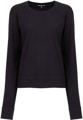 James Perse Round-Neck Longsleeved T-Shirt