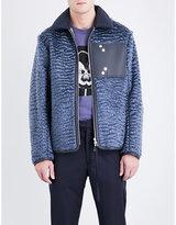 Oamc Reversible wool-blend bomber jacket