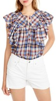 J.Crew Women's Danny Hula Plaid Top