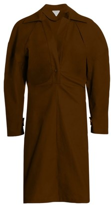 Bottega Veneta Gathered Shirtdress
