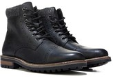 Crevo Men's Quebec Memory Foam Cap Toe Lace Up Boot