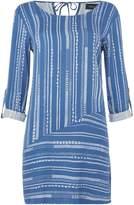 MinkPink Mink Pink Tangier striped long sleeve swing dress