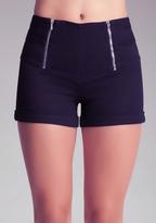 Bebe High Waist Sailor Shorts