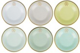 Roberto Cavalli Lizzard Dessert Plates - Set of 6 - Sunrise
