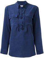 Equipment 'Knox' oversized shirt - women - Silk - XS