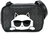 Karl Lagerfeld Cat appliqué shoulder bag