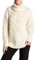 Rachel Zoe Polly Wool Blend Sweater