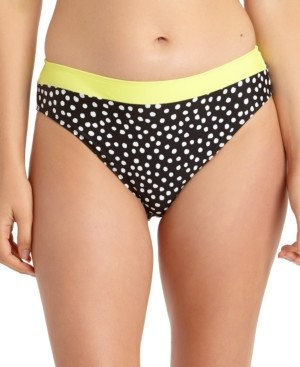 California Waves Juniors' Printed Bikini Bottoms, Created for Macy's Women's Swimsuit