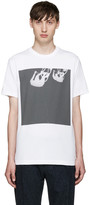 Paul Smith White Upside Down Cyclist T-shirt