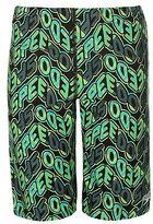 Speedo Kids Boys Pop Splash All Over Print Jammers Junior Trunks Shorts Swimwear