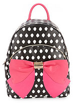 Betsey Johnson Dotted Bow Backpack