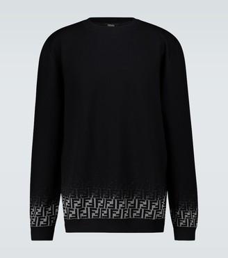 Fendi FF Degraded knitted sweater