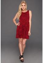 BB Dakota Darrington Dress (Maroon) - Apparel