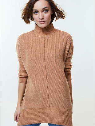 M&Co Ribbed tunic jumper