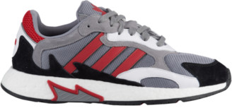 adidas Tresc Run Running Shoes - Grey / Scarlet Black