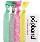 Dorothy Perkins Womens **Popband Bananarama Hair Ties Pack of 4- Multi Colour