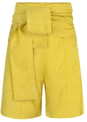 Silvia Tcherassi Limoncello Jacquard Shorts