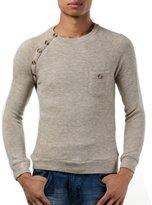 TRURENDI New Mens Premium Stylish Slim Fit Sweater Jumper Tops Cardigan 3Colors