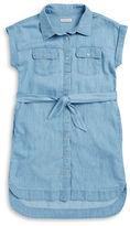 Calvin Klein Jeans Girls 7-16 Chambray Shirt Dress