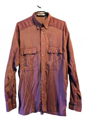 Saint Laurent Ecru Polyester Shirts