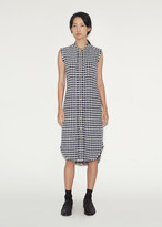 Thom Browne Sleeveless Shirtdress