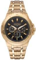 Armitron Men's Stainless Steel Watch - 20/5144BKGP